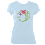 Art Rose Style Women's Fitted T-Shirt