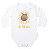 Leo The Lion Long Sleeve Baby Bodysuit