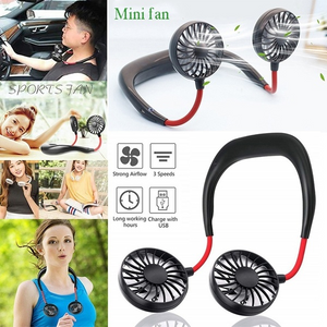 Portable Neckband Air Cooler