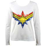 Super Heroine Women's Long Sleeve T-shirt