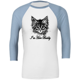 Here Buddy Unisex 3/4 Sleeve T-Shirt