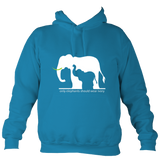 Elephants and ivory Hoodie