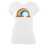 Rainbow Women's Fitted T-Shirt