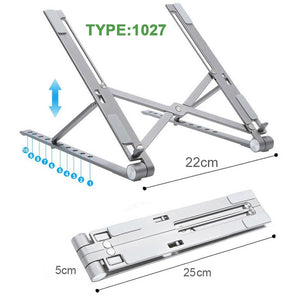 Foldable Aluminum Laptop Stand