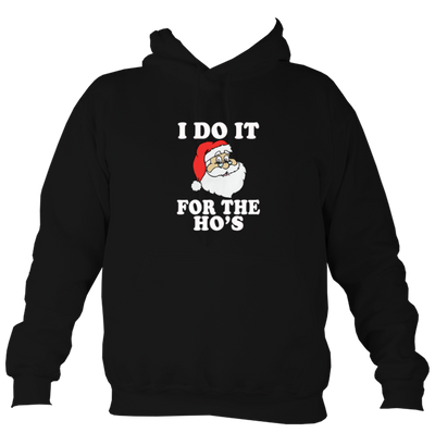 I Do it Christmas College Hoodie