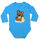 Teddy Bear on Cloud Baby Bodysuit