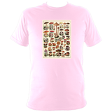 Mushrooms Chart Unisex T-Shirt