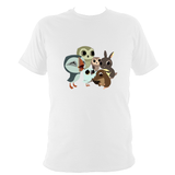 Oona, Baba With Friends T-Shirt