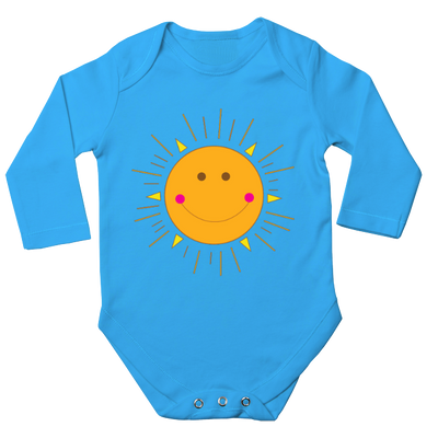 Sunshine Long Sleeve Baby Bodysuit