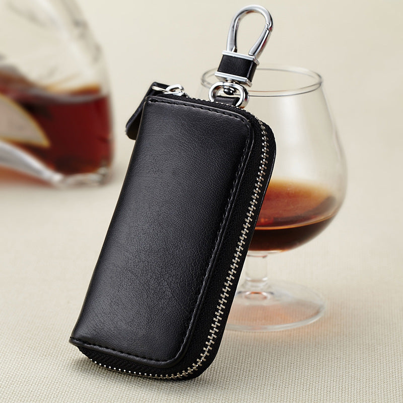 Genuine Leather Car Key Case