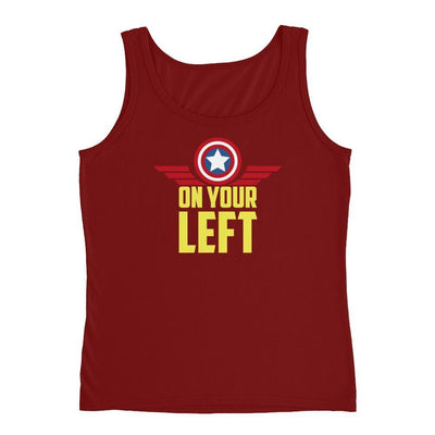 One Your Left Ladies' Tank