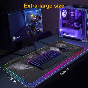 Premium Extended LED Gaming Mouse Pad