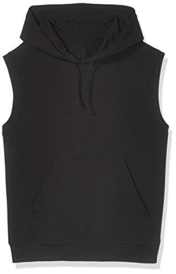 Men's Sleeveless Lightweight French Terry Hoodie