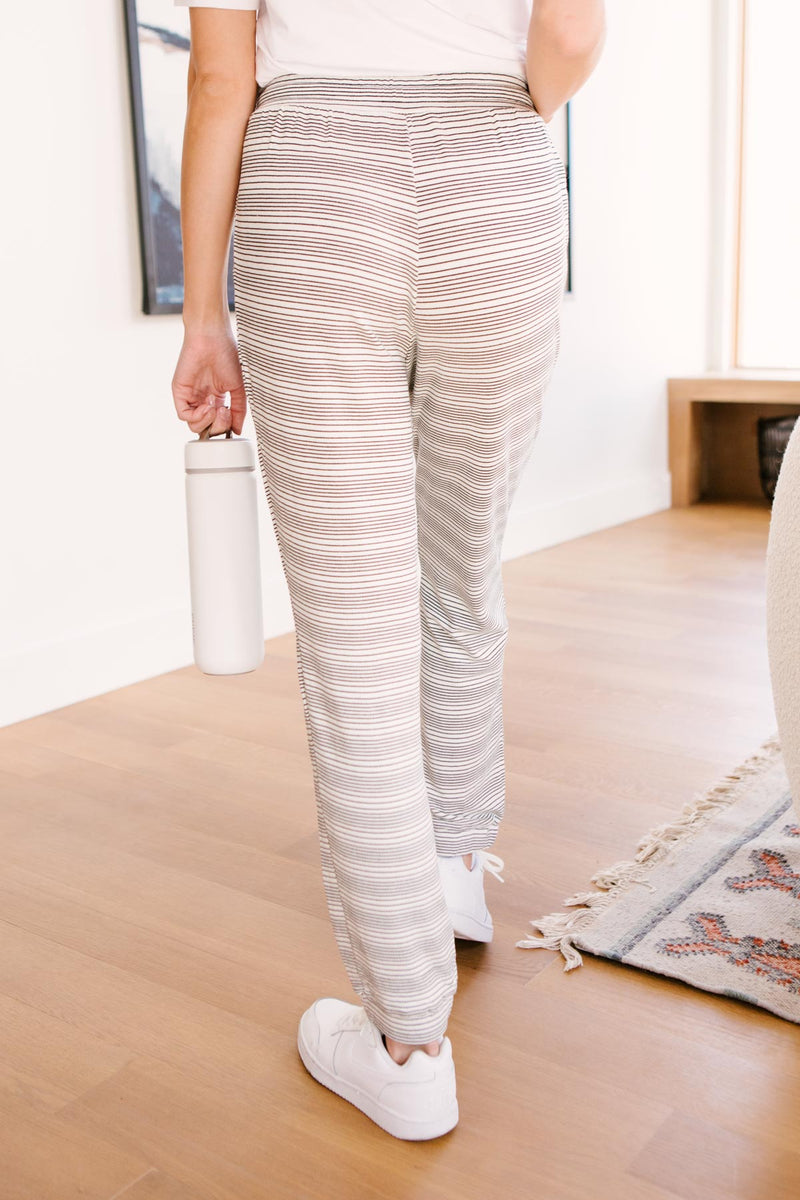 Cozy In Stripes Bottoms