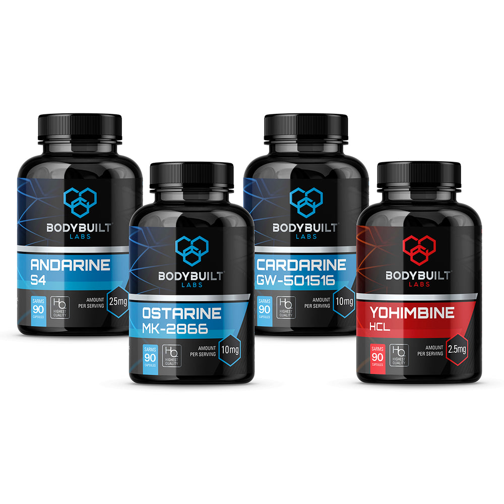 Bodybuilt Labs Advanced Shredding Stack
