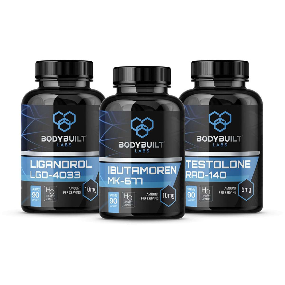 Bodybuilt Labs intermediate Muscle Stack