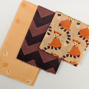 Leamur Friends Beeswax Wrap 3 Pack - Small Medium Large