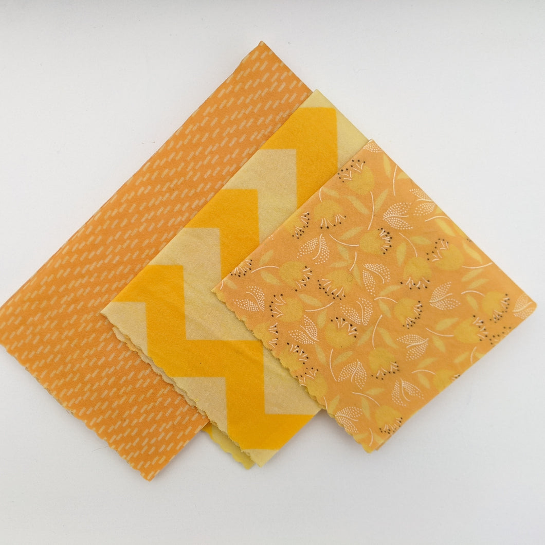 Chantilly Beeswax Wrap 3 Pack - Small Medium Large