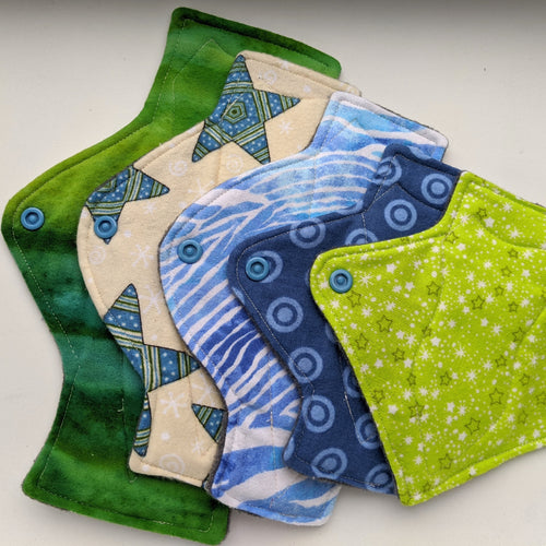 Teen Starter 5 Piece Set - Blue and Green