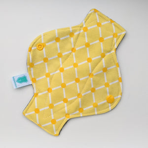 Gold Lattice Long Panty Liner