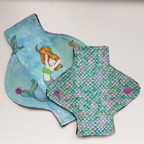 Mermaid Panty Liner Set