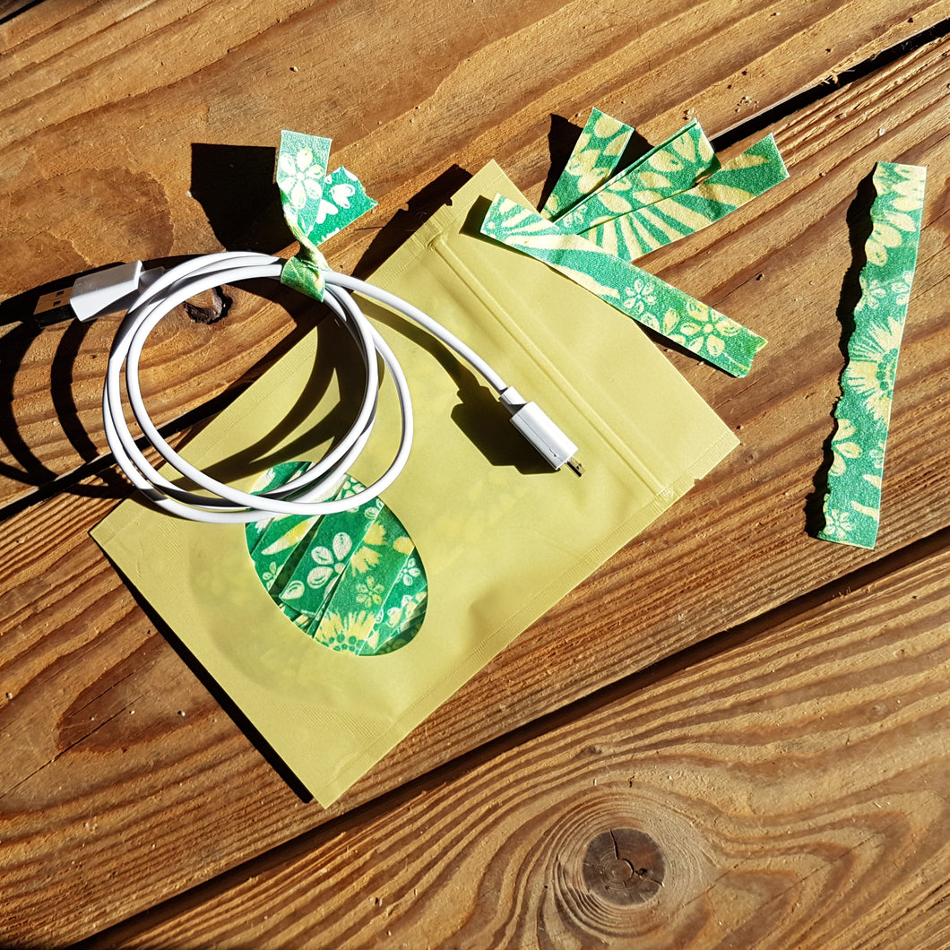 Beeswax Twist Ties
