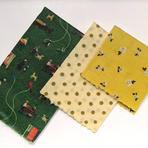 The Settlement Beeswax Wrap 3 Pack - Small Medium Large