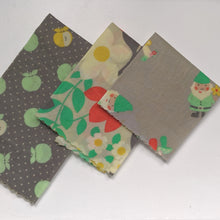 Load image into Gallery viewer, Gnome'a Your Beeswax Wrap 3 Pack - Grey - Small Medium Large