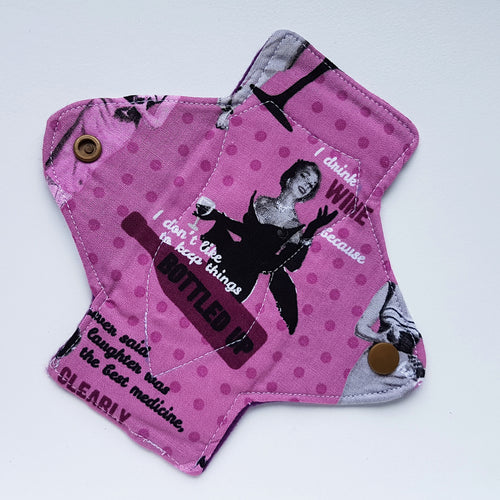 Wine Time Panty Liner