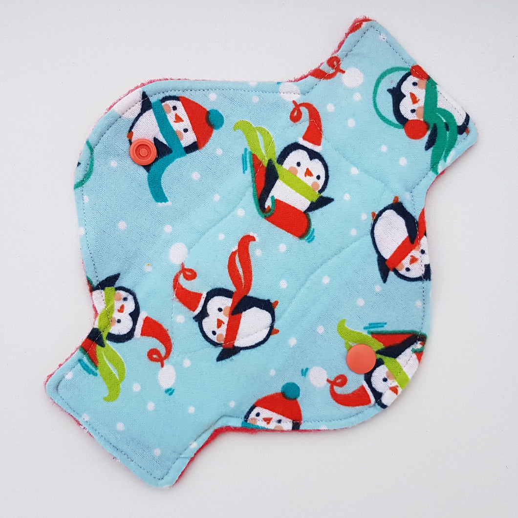 Penguin Snow Day Long Panty Liner