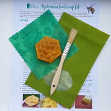 Load image into Gallery viewer, DIY Beeswax Food Wrap Kit