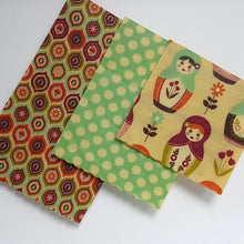 Load image into Gallery viewer, Russian Dolls Beeswax Wrap 3 Pack - Small Medium Large