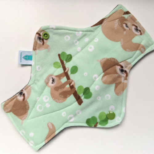 Sloth on Green Regular Pad *NEW Shape*