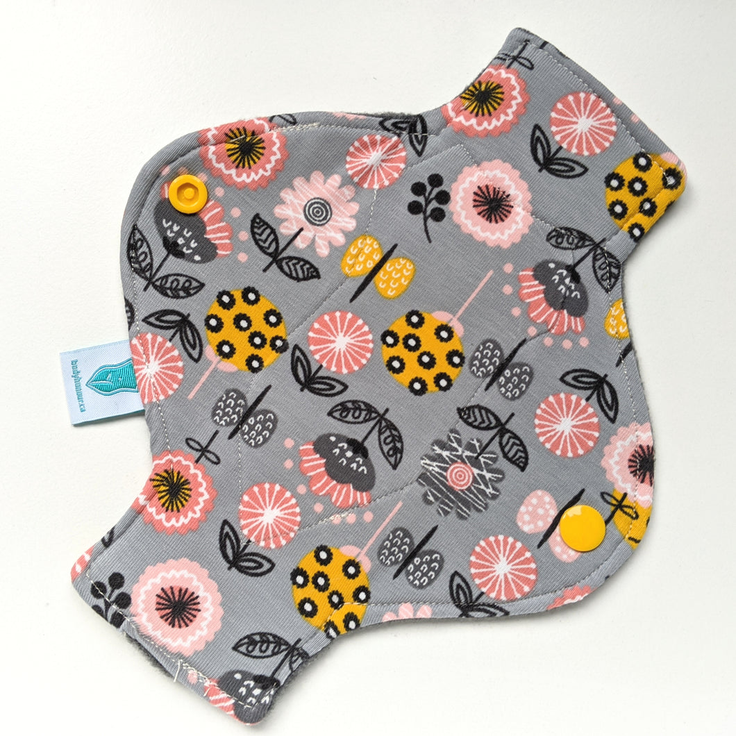 Flowers in Jersey Long Panty Liner