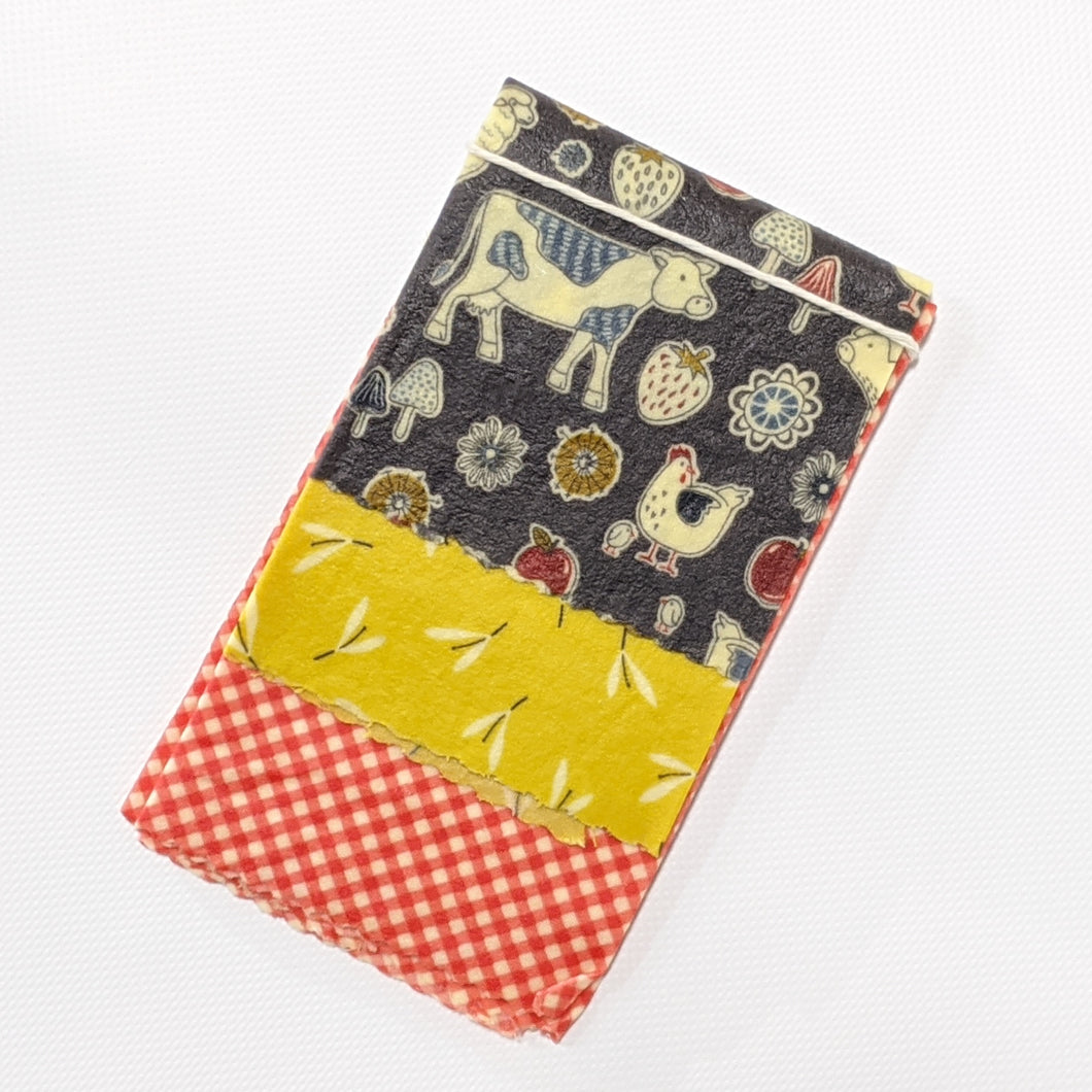 Fancy Farm Beeswax Wrap 3 Pack - Small Medium Large