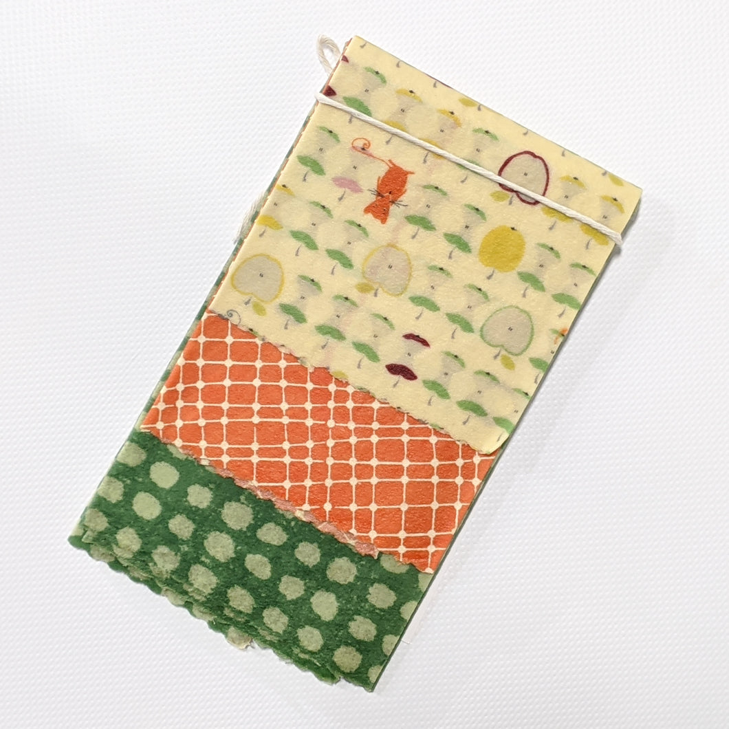 Munching Mouse Beeswax Wrap 3 Pack - Small Medium Large