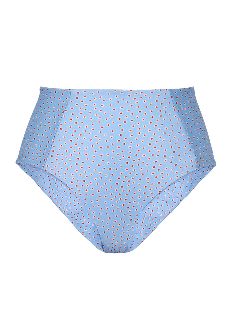 Ayla Swim S19 High-waisted Bottoms Sora Print