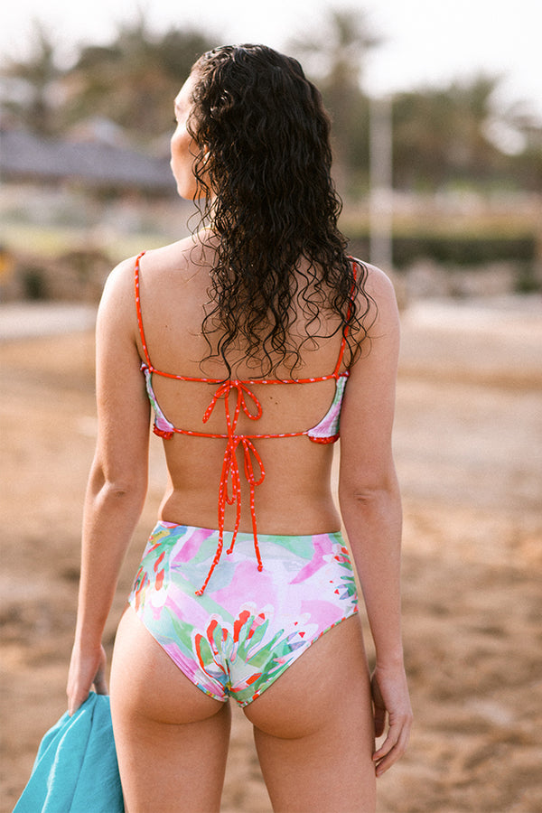 Ayla Swim S20 High-waisted Bottoms Bonaire Print