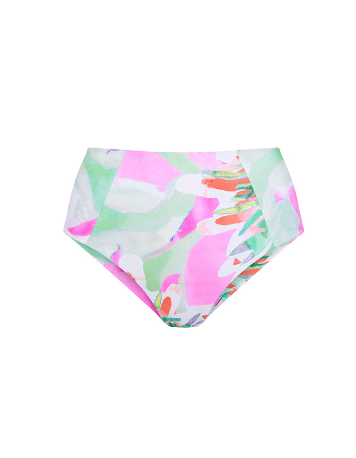 High-waisted Bottoms | Bonaire Print