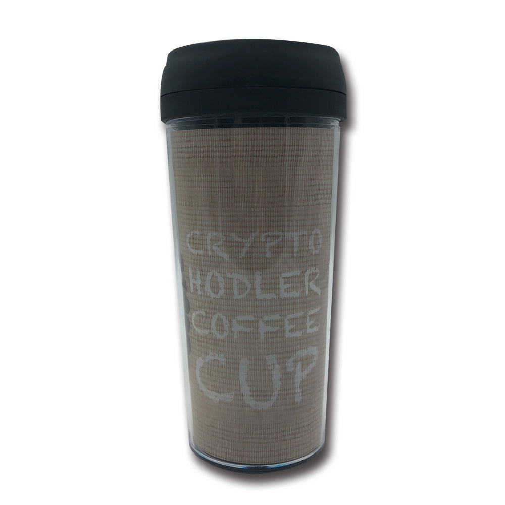 KAFFEE BECHER TO GO - BITCOIN - Cryptogifts