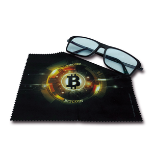 MIKROFASERTUCH BITCOIN - Cryptogifts
