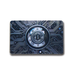 RFID BLOCKER KARTE - BITCOIN - Cryptogifts