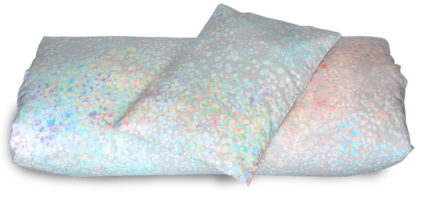 Baby duvet cover & pillow case set, Rainbow