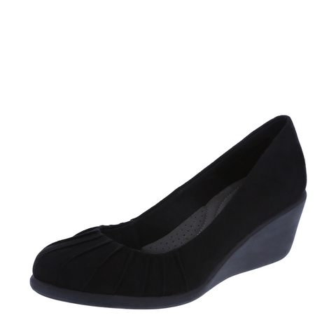 Women's Bristol Pleated Wedge