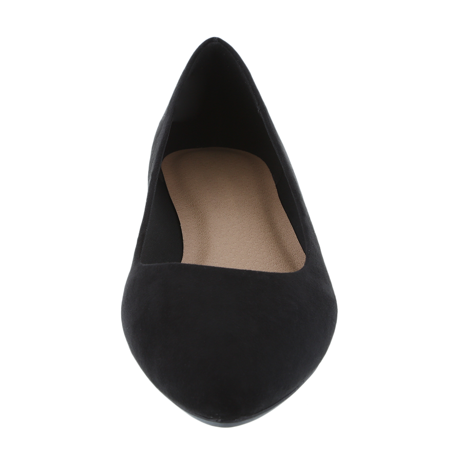 Women's Cami Faux Suede Pointed Flat