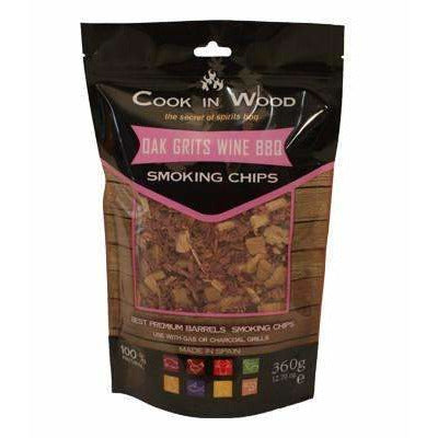 Oak wood BBQ Chips - Kamado JoJu