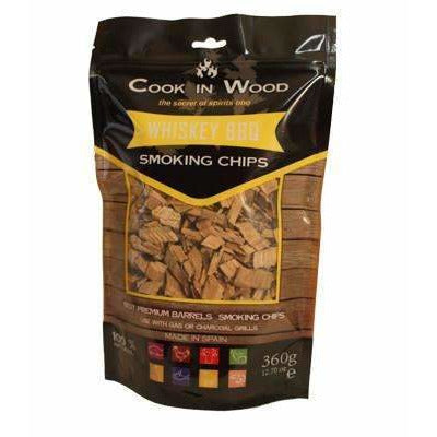 Whisky wood BBQ Chips - Kamado JoJu