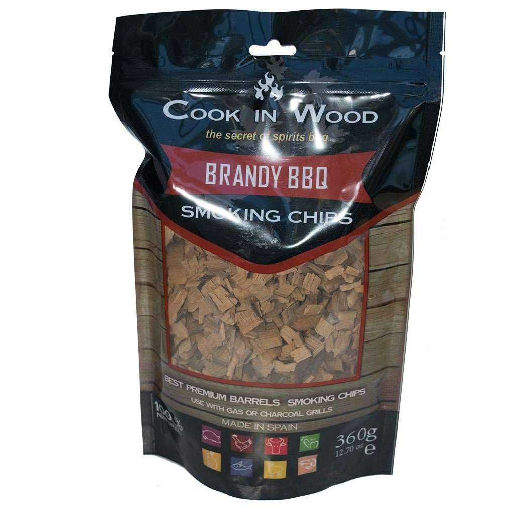 Brandy wood BBQ Chips - Kamado JoJu