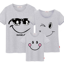 Family matching clothes mother daughter dresses son outfits cotton casual short-sleeve T-shirt family look father baby clothing