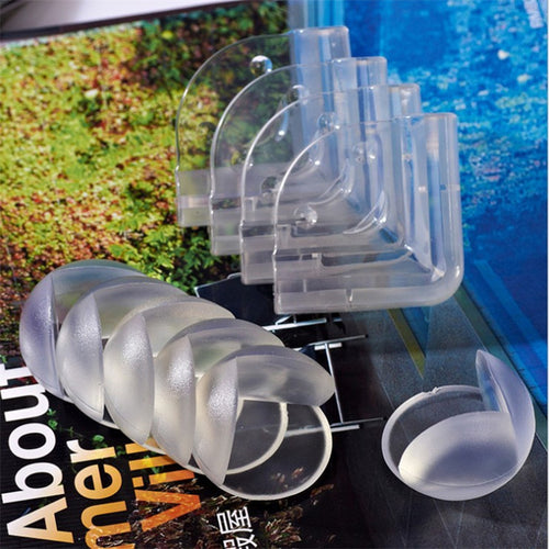 10Pcs/lot Baby Safety Silicone Corner Protector, Table Edge Protection, Children Edge & Corner Anticollision Guards